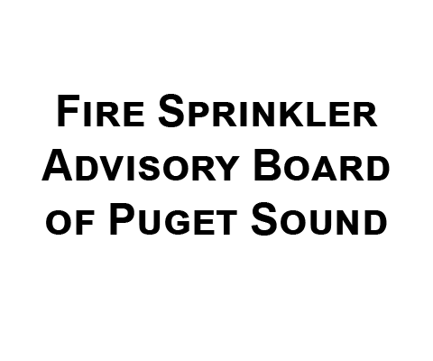 Fire Sprinkler Advisory Board of Puget Sound